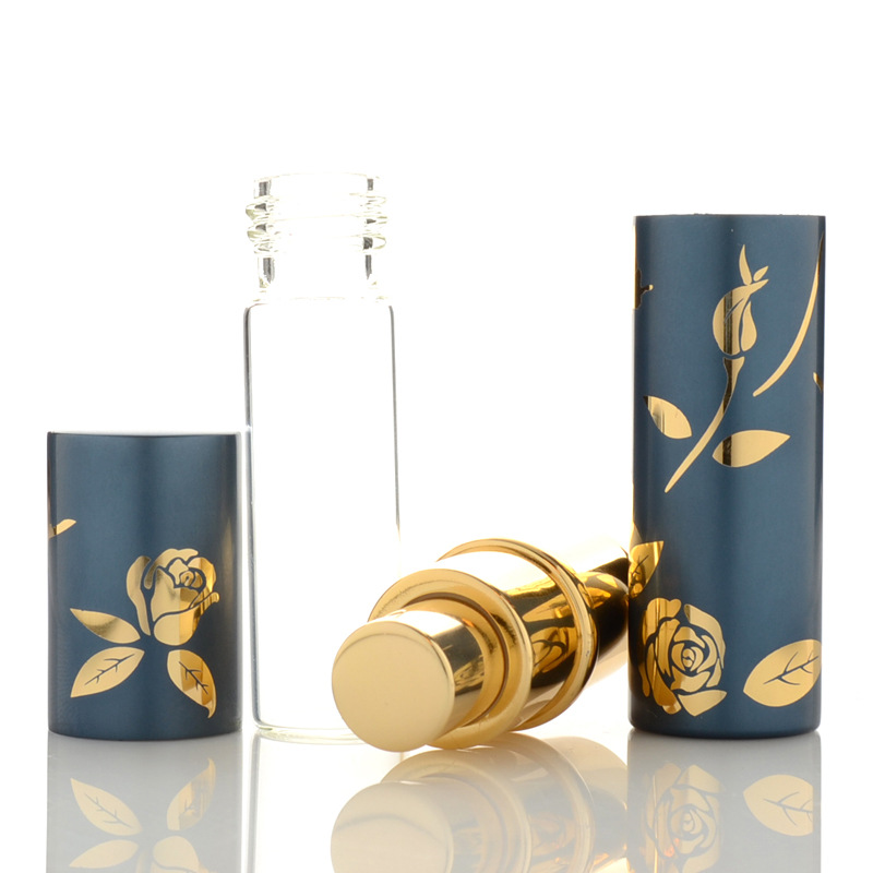 RORASA Top Quality 10ml Mini Perfume Bottle Atomizer Spray Empty Travel Refillable Bottles 6 Colors Luxury Great Gifts for Women