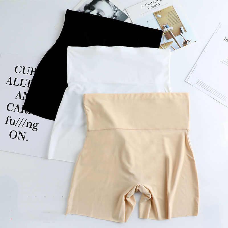 Kobiety WLSD szorty ochronne spodnie bez szwu Nylon wysokiej talii majtki bez szwu anty opróżnione szorty spodnie dziewczyny bielizna wyszczuplająca