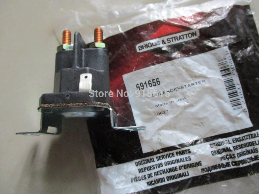 691656 SOLENOID STARTER FIT FOR BRIGGS AND STRATTON 16HP 18HP 20HP 21HP 23HP GASOLINE ENGINE GENERATOR PARTS