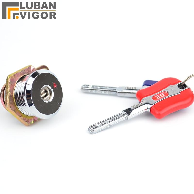 Super security Safe lock , Anti - theft lock,Electronic safe deposit box key/lock,Unable to copy,Copper cylinder цены онлайн