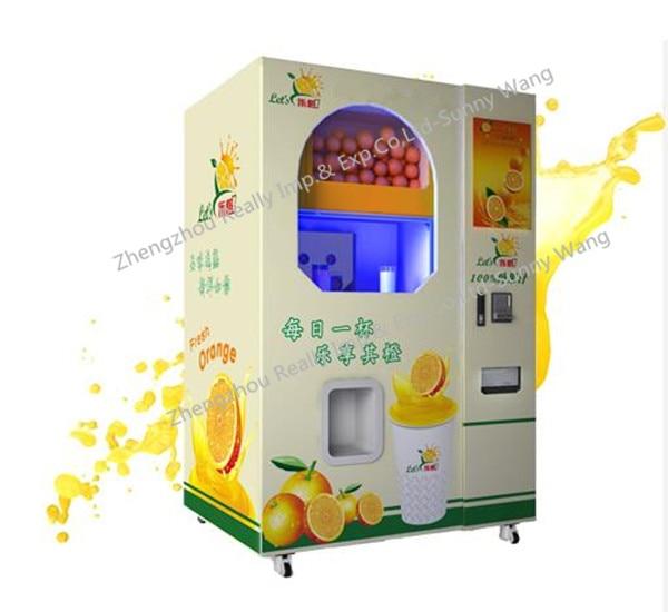 Ce Approved Fresh Orange Juicer Mobile Orange Juice Vending Machine