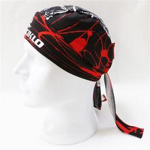Lenço Das Mulheres dos homens Crânio Ciclismo Cap Pirata Ciclismo Ciclo Bicicleta Bandanas Anti Suor UV Esporte Headwear Headband Lenço