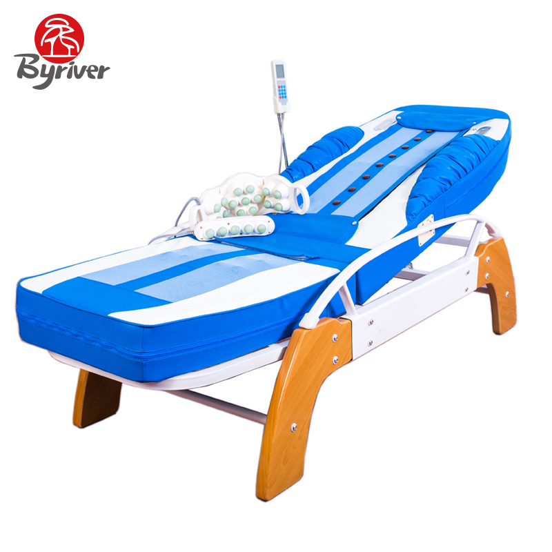BYRIVER Factory Direct Sale Basic Function Thermal Jade Stone Massage Bed Table Massager hot sale jade