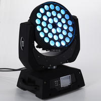 (1 pieces/lot) professional sound disco led moving head zoom wash 36x12w rgbw 4 in 1 moving head dmx led spot
