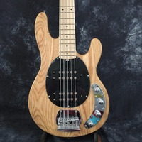 Top Selling Natural Music Man StingRay Bass Guitar 5 Strings & Left Handed free shipping