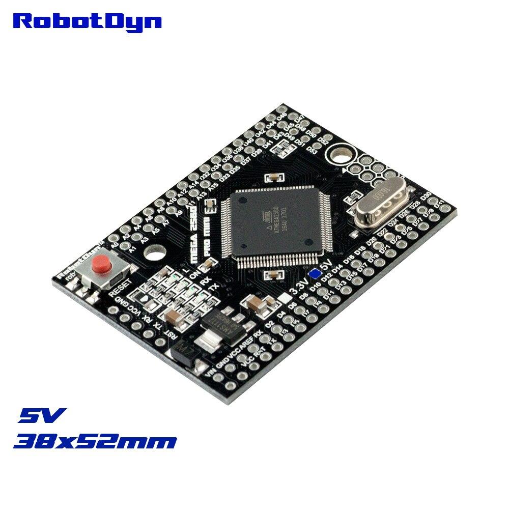 ¡Mega 2560 PRO MINI 5 V ATmega2560-16AU NO pinheaders! Compatible con Arduino Mega 2560