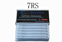TC Tattoo 7RS Tattoo Needle 50pcs/lot Stianless Steel Needles Medical Tattoo Needle