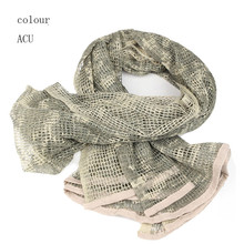 Airsoft Camouflage Tactical Mesh Sniper Scarf Sniper
