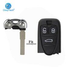 OkeyTech, 1 шт., сменный ключ, хорошее качество, неразрезанное лезвие для ALFA ROMEO 159 Brera 156, ключ-паук