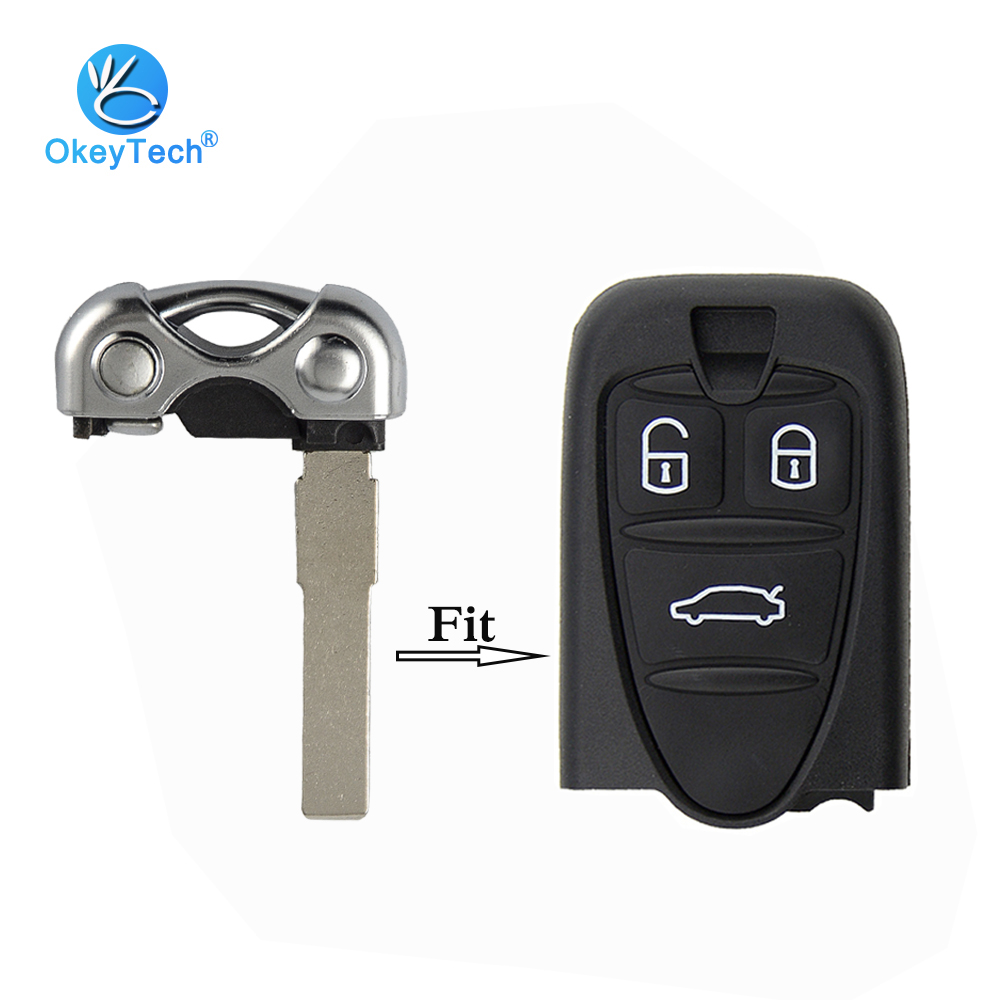 OkeyTech 1PC Replacement Key Blade Good Quality Uncut Blade for ALFA ROMEO 159 Brera 156 Spider Key Free ShippingOkeyTech 1PC Replacement Key Blade Good Quality Uncut Blade for ALFA ROMEO 159 Brera 156 Spider Key Free Shipping