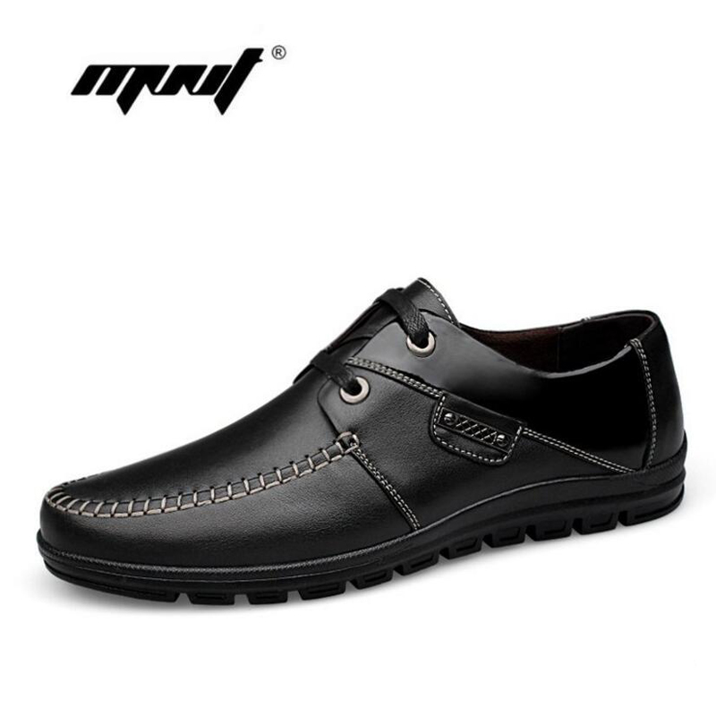 Full grain leather men shoes Top quality soft leather casual shoes Handmade plus size falts shoes men zapatos hombre full grain leather men shoes handmade men flats shoes top quality men loafers plus size lace up casual shoes