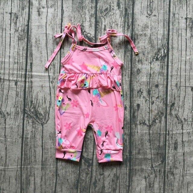 d086146d3c68 baby girls SUMMER romper infant toddler girls UNICORN romper baby toddler  girls romper clothing summer unicorn romoer sets