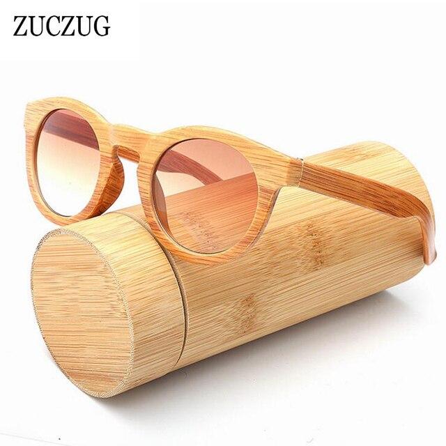 657ef0af00f766 ZUCZUG Grain de Bois Vintage lunettes de Soleil Femmes Cat Eye Lunettes de Soleil  Femme Marque