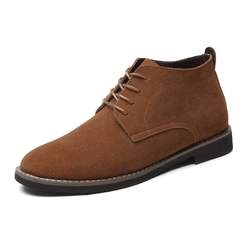 New Men Casual Genuine Leather Shoes Big Size Cow Pig Suede Leather Loafers Shoes Men's Casual Flats Shoes Thicken or Normal dxkzmcm new men flats cow genuine leather slip on casual shoes men loafers moccasins sapatos men oxfords