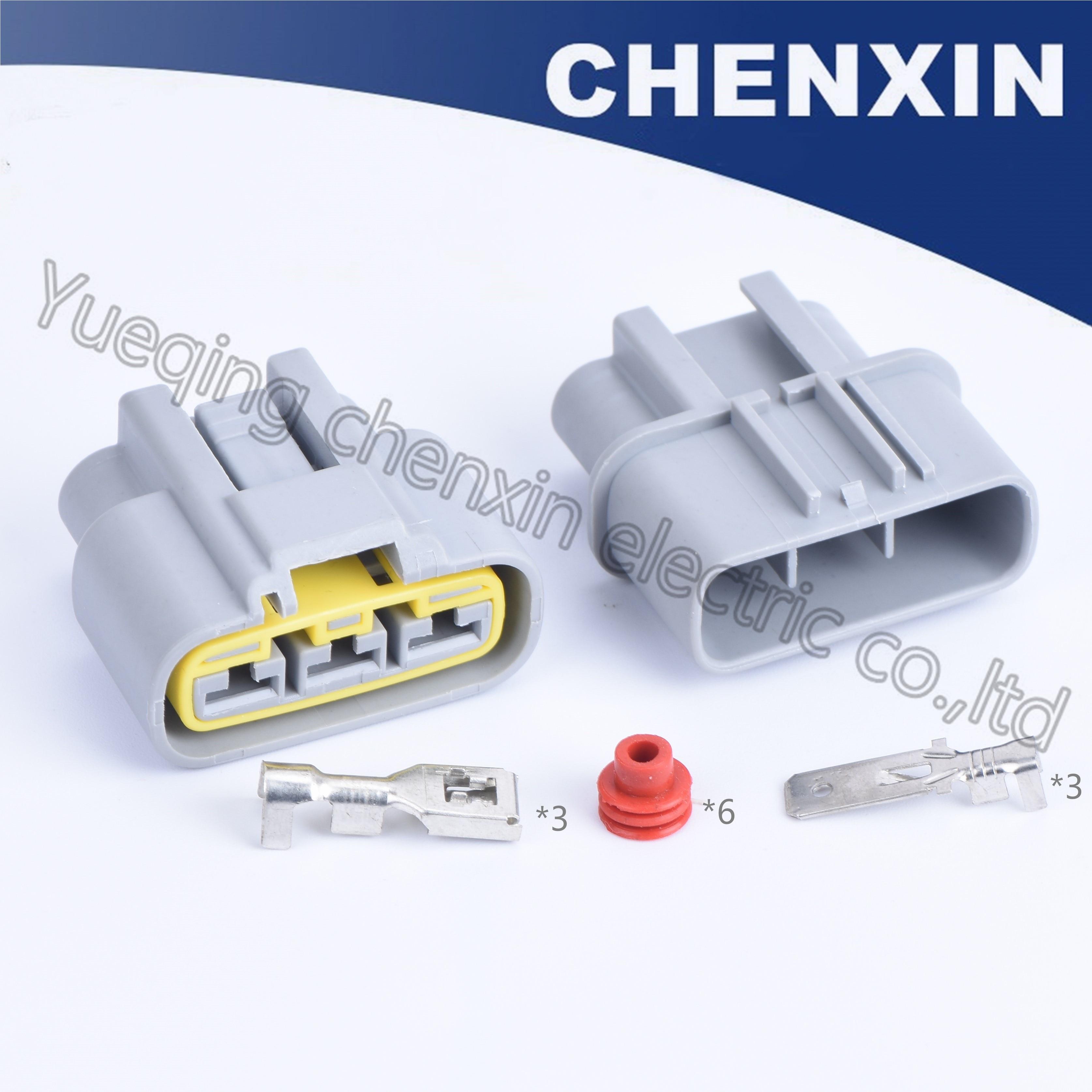 Grey 3pin car waterproof auto wiring harness connector(6.3)male and female  automobile fan socket plug QLW A 3F B QLW A 3F GR QLW|Cables, Adapters &  Sockets| - AliExpressAliExpress