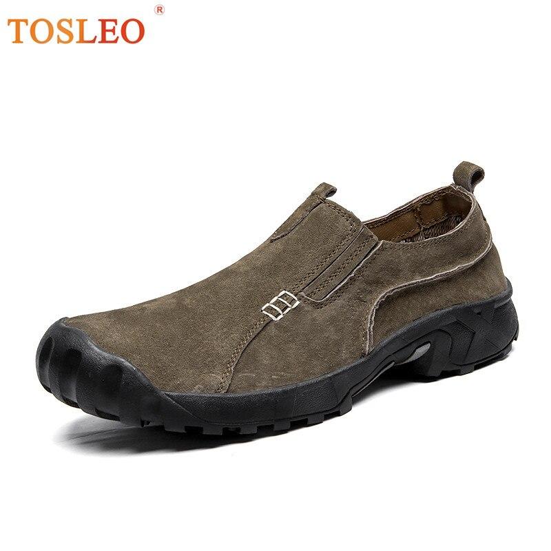 Cuero Los En Deslizamiento Zapatos Comprar Hombres De Otoño 2018 1wqCqx8tT