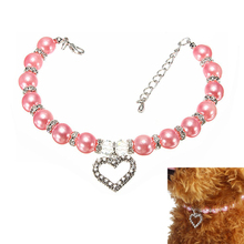 Fashion Pearl Jewelry Necklace for Dogs and Cat