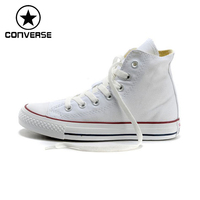 100 Original New Converse Men Shoes High Top Canvas Shoes Women All Star Shoes Free Shipping