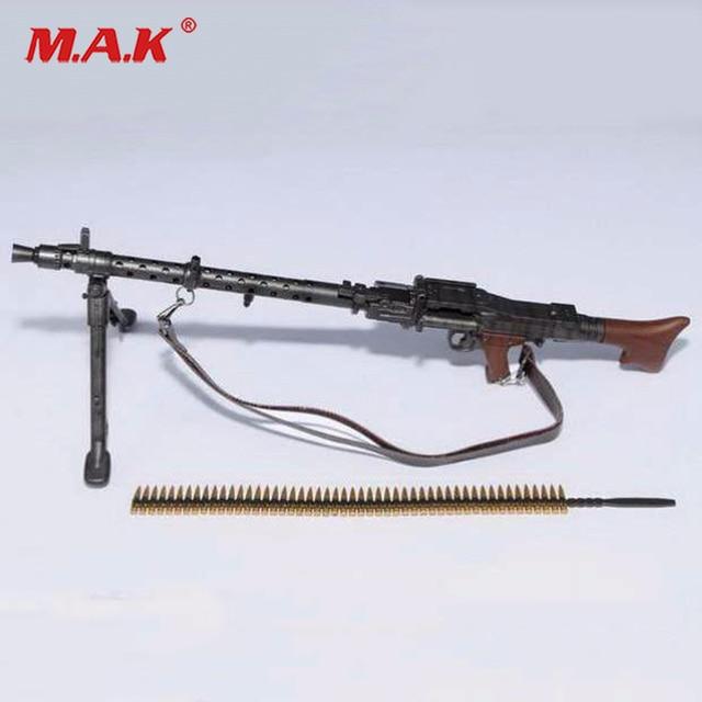 US $13 88 7% OFF|1/6 Figure Weapon WWII German Maschinengewehr 34 Light  Machine Gun Model Toy Weapon Toys For Action Figure Accesssories-in Action  &