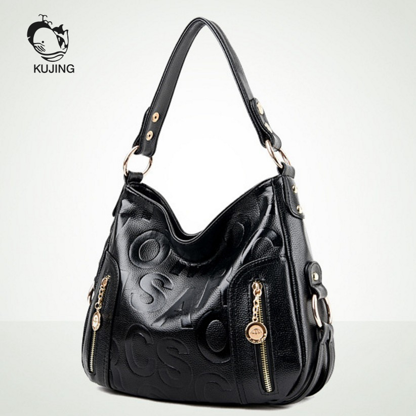 KUJING Brand Fashion Women's Bag Hot Women Business Casual Handbag Luxury Women Shoulder Messenger Bag Cheap Quality Women's Beg 95