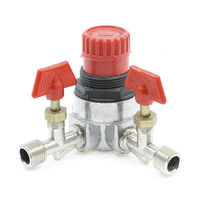 Air Compressor Fittings 13mm Male Threaded Joint Pipe Manual Valve Switch