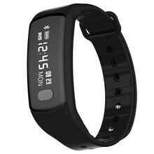Шагомер сердечного ритма Мониторы Приборы для измерения артериального давления Мониторы Bluetooth Smart Браслет Шагомер Браслет 3 цвета шагомер часы