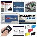 Программное обеспечение для ремонта автомобиля Alldata 2020 все данные 10 53 V + Mit/chell OD5 2015 ремонт автомобиля + ELSAWin 6 0 + ATSG 2017 + Vivid 21in1TB HDD USB3.0