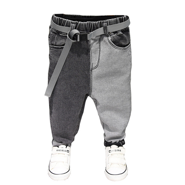 Boys Jeans Pants Trousers Spring Baby Kids Children Denim Teenager Casual Cotton Summer