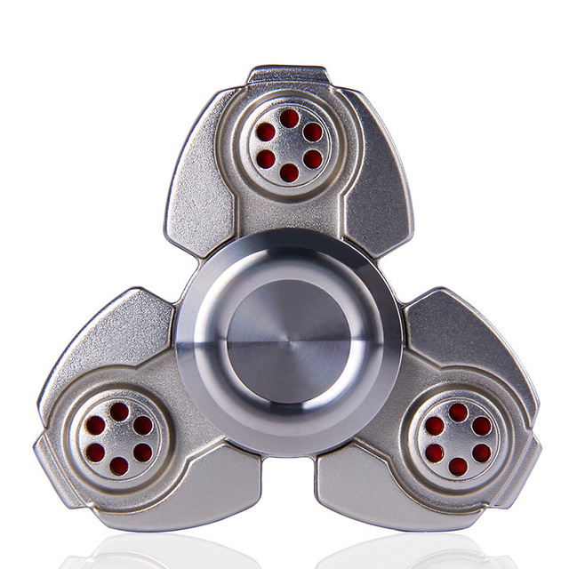 Russian CKF Alloy Triangle Gyro Fidget spinner metal EDC Hand Finger spinner For Autism/ADHD Anxiety Stress Relieve Toys Gift