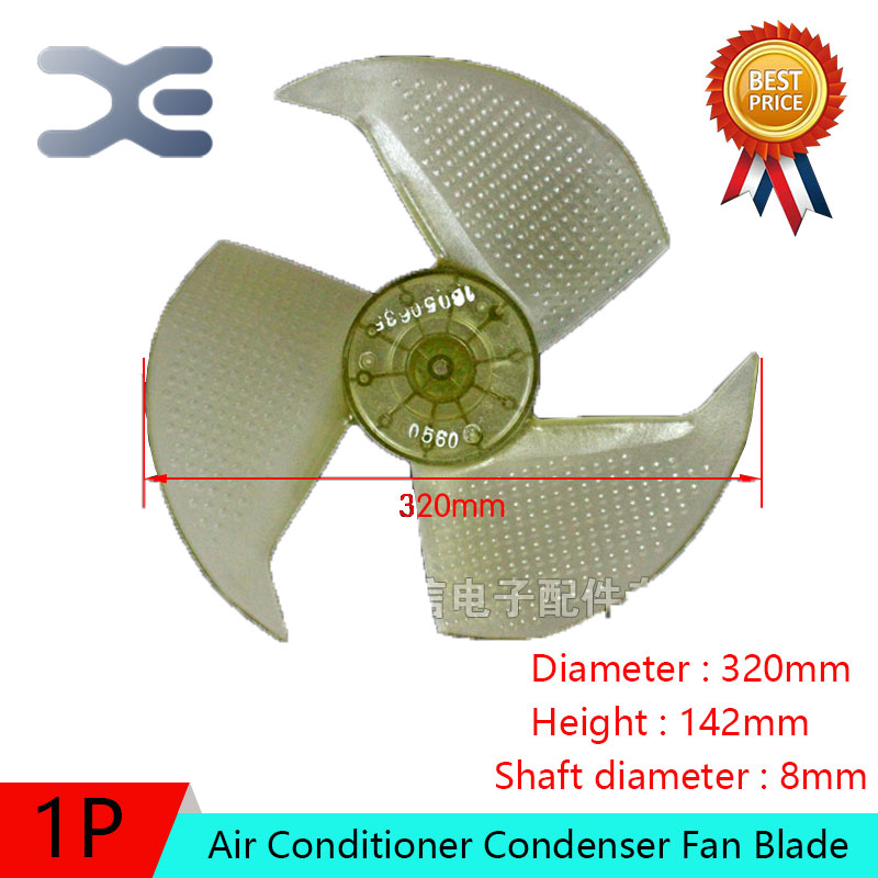 Air Conditioner Condenser Fan Blade with Slinger Ring for Air Conditioner Parts недорго, оригинальная цена