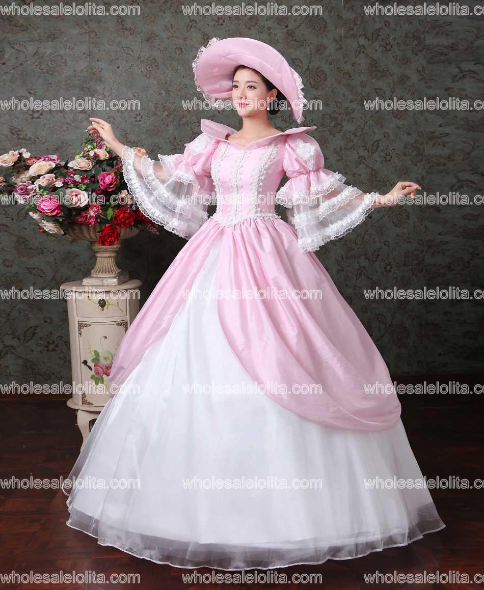 hochwertigen. jahrhunderts europäischen gericht marie antoinette barock  rokoko ballkleid hochzeit kleid