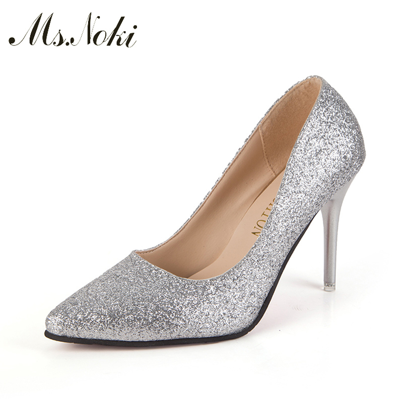 Silver Bling Heels Promotion-Shop for Promotional Silver Bling ...