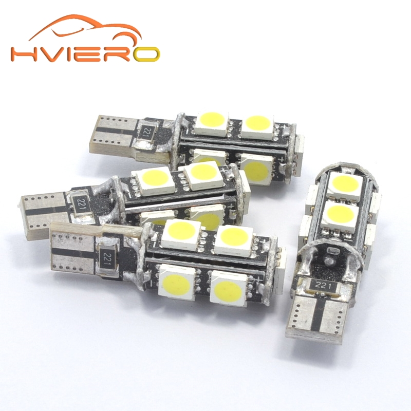 1Pcs White T10 9smd 5050 Canbus DC 12V Error Free 194 168 192 W5W Car LED Tail Light Interior Bulbs Wedge Parking Dashboard Lamp 100pcs lot t10 9smd 5050 9 smd 9led car 194 168 192 led t10 w5w led white 9 led light automobile bulbs lamp wedge interior light