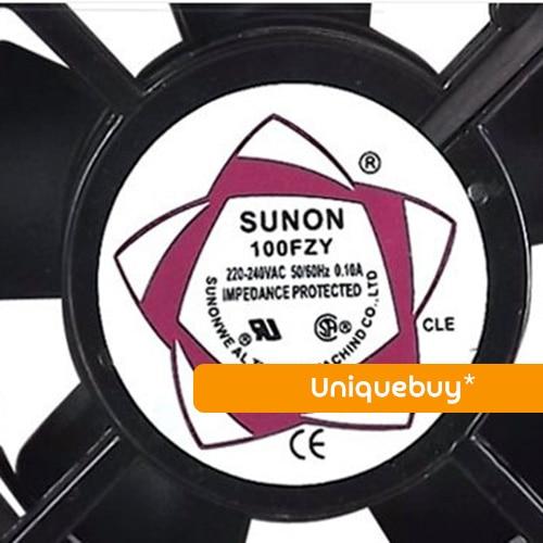 100FZY 220V For Sunon cooling fan 110V/220V*380V axial fan oil bearing ball axial fan jd12038ac 220v 0 14a 12cm cooling fan