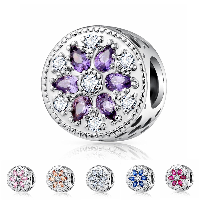 Pandora Jewelry Online Retailers: Fashion Romantic Pandora Charms Silver 925 Original Fit