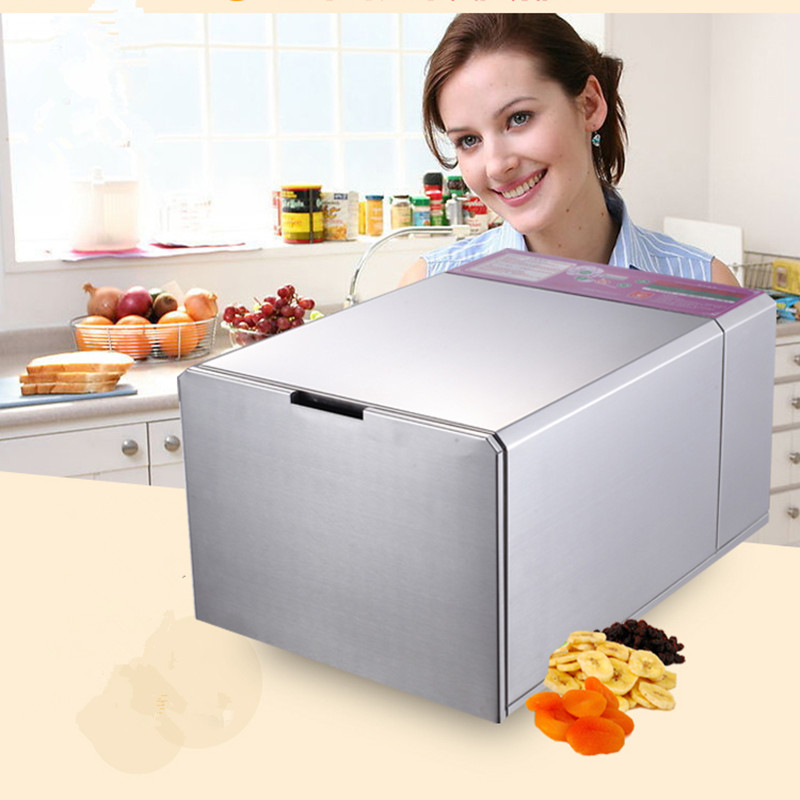 220V 6 layers commercial stainless steel fruit dehydrator machine fruits vegetable meat herbal tea fish dryer food processor ZF fast shipping food machine 6 layers chocolate fountains commercial chocolate waterfall machine with full stainless steel