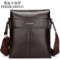 2017 Man Leather Messenger Bag Male Cross Body Shoulder High Quality Men S Travel Bag Brown