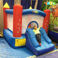 YARD Residential Children Inflatable Bouncy Castle Inflatable Bouncer Outdoor and Indoor Sports Games Special for Winter