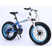KUBEEN горный велосипед 21 скорость 2,0 дюйма дорожный велосипед жира велосипед механические дисковые тормоза Для женщин и детские велосипеды