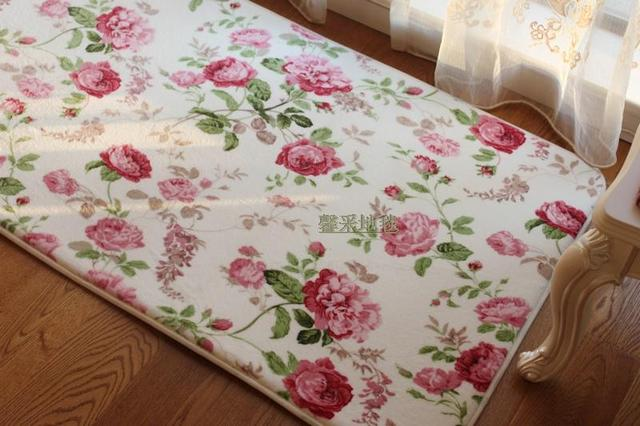 Chambre style shabby amazing chambre style romantique for Tapis shabby chic