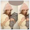 Winter Warm yarn for knitting Natural Wool Chunky thick yarn 250g/lot Wool Roving line hand Blanket yarn DIY scarf hat yarn