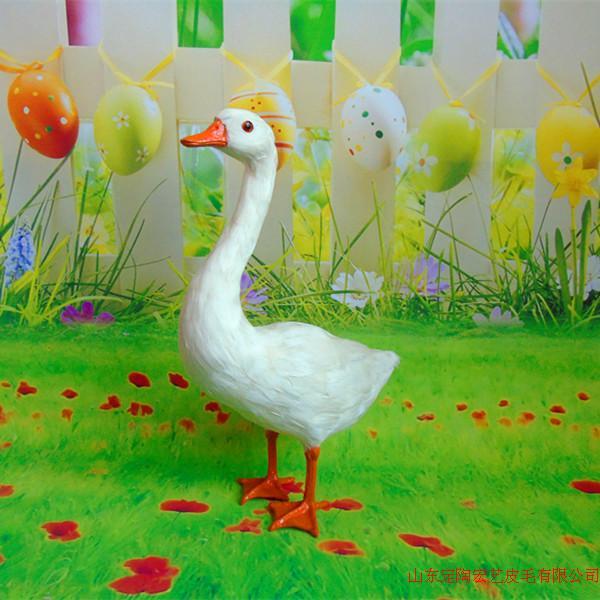 new big simulation goose toy polyethylene & furs goose model about 25*14*38CM 061 стоимость