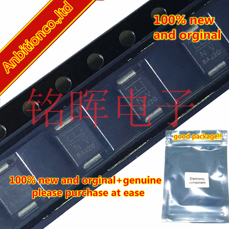 10-20pcs 100% New And Orginal SMBJ85A Silk-screen NV SMB DO214AA 85V SURFACE MOUNT TRANSIENT VOLTAGE SUPPRESSOR In Stock