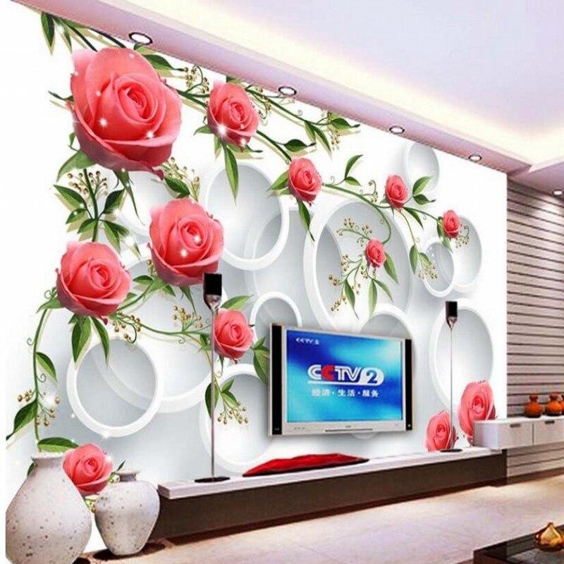 Achetez En Gros Fond D écran Antique En Ligne à Des: Achetez En Gros Vert Rose Papier Peint En Ligne à Des