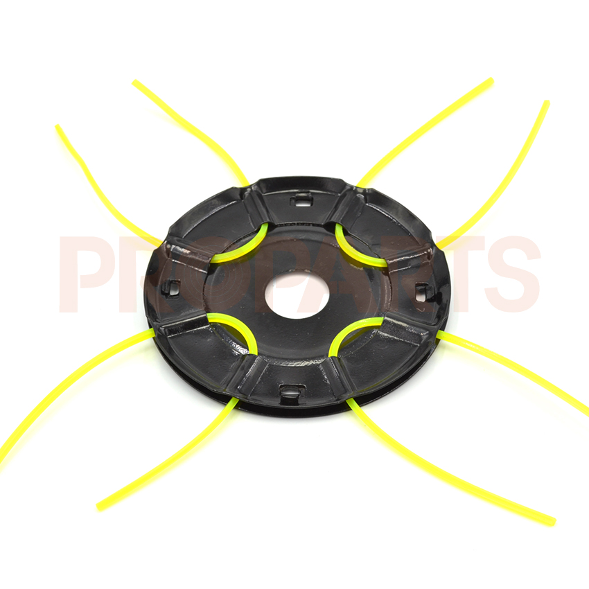 4 Lines Aluminum Brush Cutter String Trimmer Head blood lines