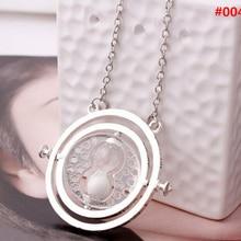 ZRM модные ювелирные изделия Поттер время Тернер кулон ожерелье песок стекло ожерелье для женщин