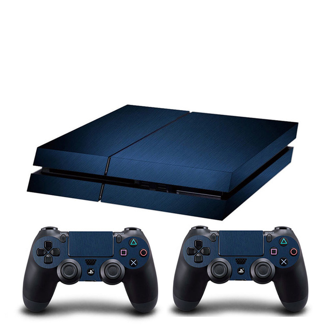 HOMEREALLY PS4 Skin Chrome Gold and Custom Vinyl HD Sticker For Sony Plsaystation4 Console and Controller Skin PS4 Accessory 2