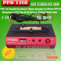 DHL PARA O PPD 120E plataforma baixa temperatura de soldagem de demolição demolição A8 Chip de A9 CPU NAND BGA Retrabalho Plataforma Para o iphone 7 6 s