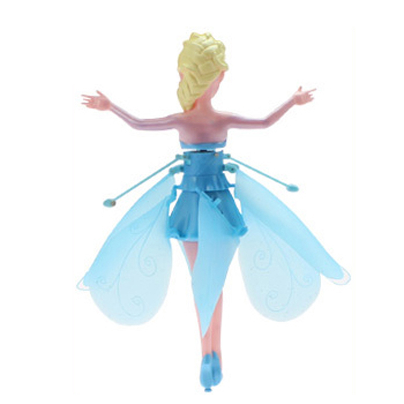 Bonecas para meninas presente de natal Material : Flying Fairy Princess Abs Plastic