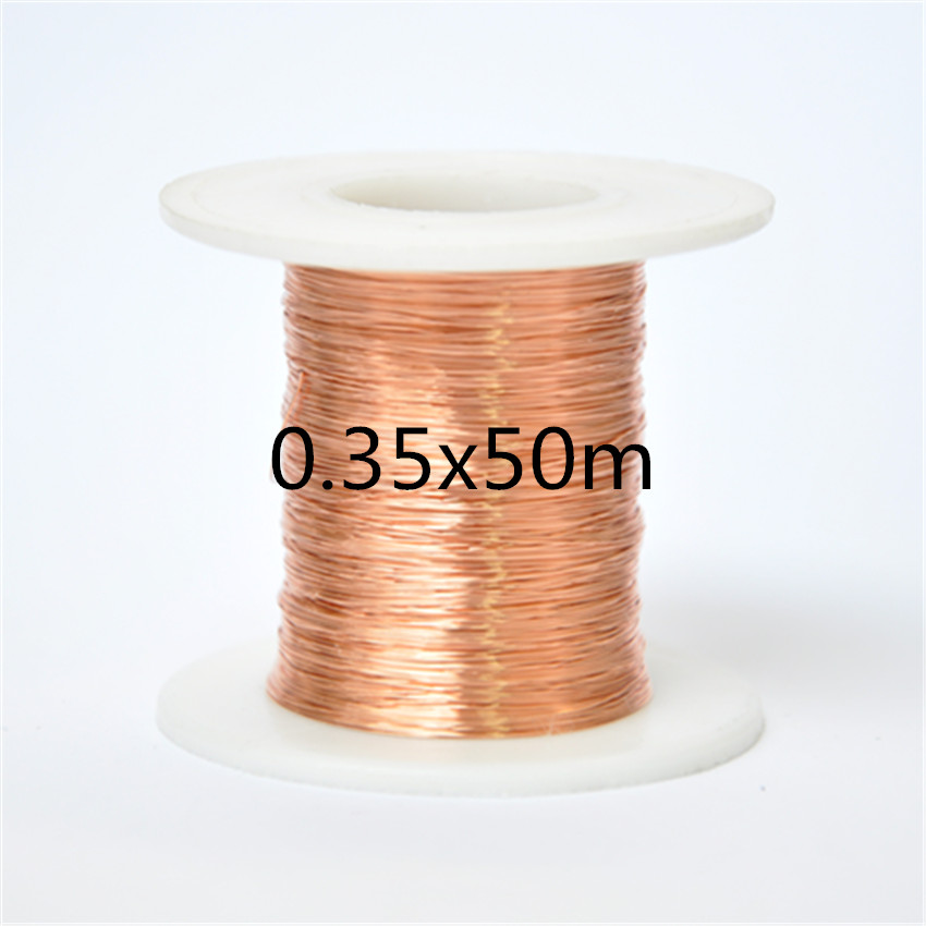 Free shipping 0.35mm *50m QA-1-155 Polyurethane enameled Wire Copper Wire enameled Repair cable 0 1mm 1000m pc length qa 1 155 polyurethane enameled wire copper wire enameled repair